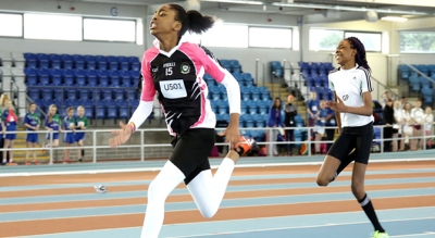 Future Irish athletics champs shine at indoor diversity games
