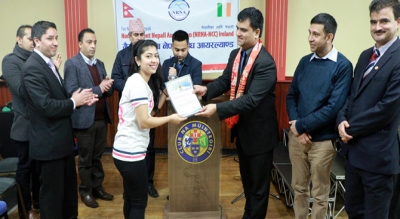 Ireland's Nepalese celebrate new graduates in Dublin
