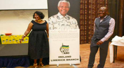 Ireland's South Africans strive to further Mandela's legacy