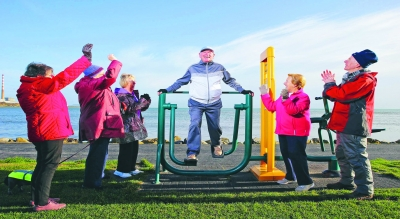 Keep active in retirement urges new campaign