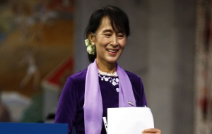 Shame on Aung San Suu Kyi