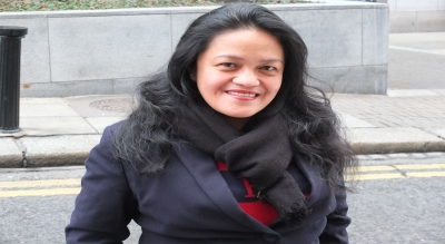 There's a twist in the tale for this Filipino nanny turned business woman